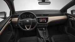 Nuova Seat Ibiza: al centro della plancia c'è il monitor touch del nuovo sistema di infotainment