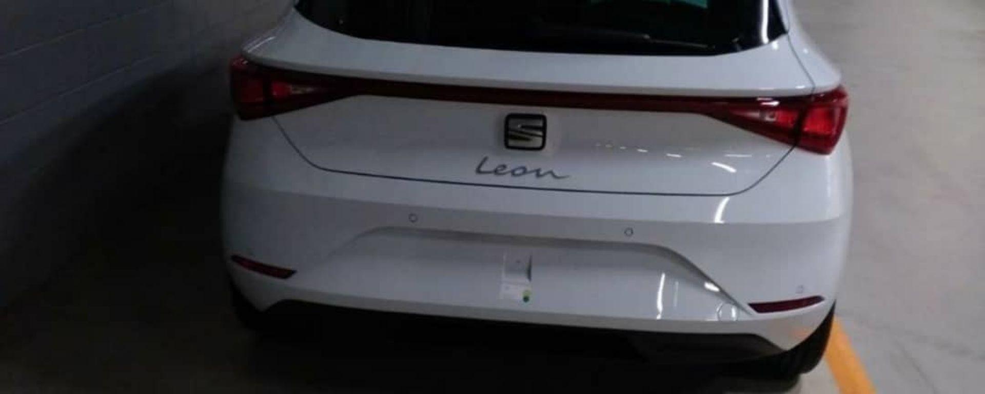 Nuova Seat Leon 2020: il posteriore