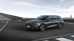 Nuova Seat Leon Sportourer 2020: il 3/4 anteriore