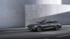 Nuova Seat Leon Sportourer 2020: il frontale