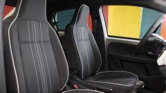 Nuova Seat Mii electric: i sedili regolabili anche in altezza con l'appoggiatesta integrato