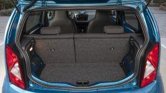Nuova Seat Mii electric: il bagagliaio non è grande, ma adeguato alle necessità e la batteria non ingombra
