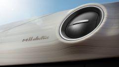 Nuova Seat Mii Electric: un dettaglio della plancia e della bocchetta di aerazione