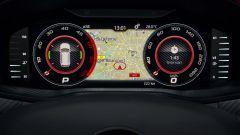Nuova Skoda Kodiaq RS 2019: il Virtual Cockpit può mostrare la mappa del navigatore