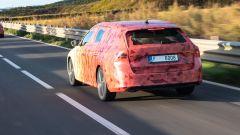Nuova Skoda Octavia 2020: vista di 3/4 posteriore