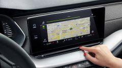 Nuova Skoda Octavia: il display touch centrale