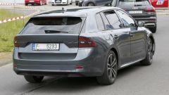 Nuova Skoda Octavia Wagon: posteriore