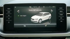 Nuova Skoda Scala 1.6 TDI Style DSG: il touchscreen tablet da 9,2