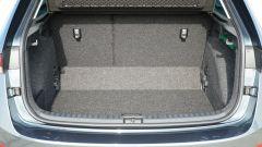 Nuova Skoda Scala 1.6 TDI Style DSG: il vano bagagli con schienale posteriore frazionabile 60:40