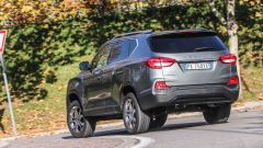 Nuova Ssangyong Rexton 2017: 2WD - 4WD - 4WD Lock