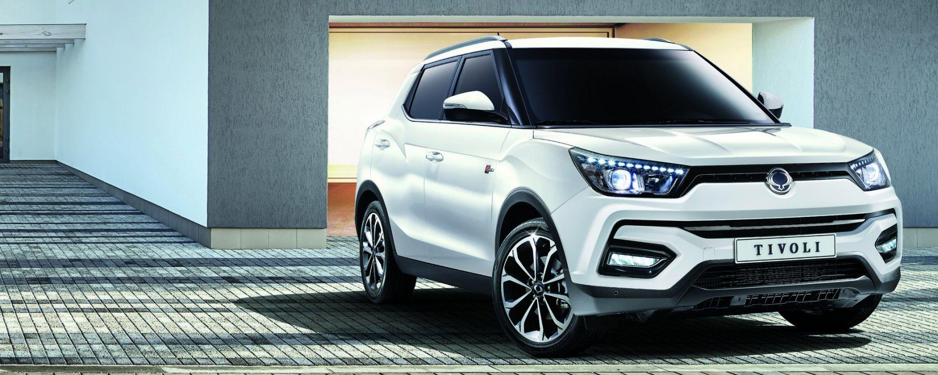 SsangYong Tivoli: ecco il restyling del SUV compatto coreano