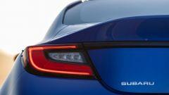 Nuova Subaru BRZ 2022: dettaglio del gruppo ottico posteriore