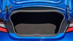 Nuova Subaru BRZ 2022: il bagagliaio