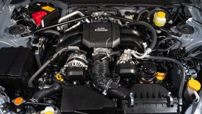 Nuova Subaru BRZ 2022: il nuovo motore