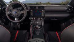 Nuova Subaru BRZ 2022: la plancia