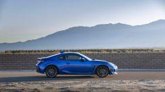 Nuova Subaru BRZ 2022: vista di profilo