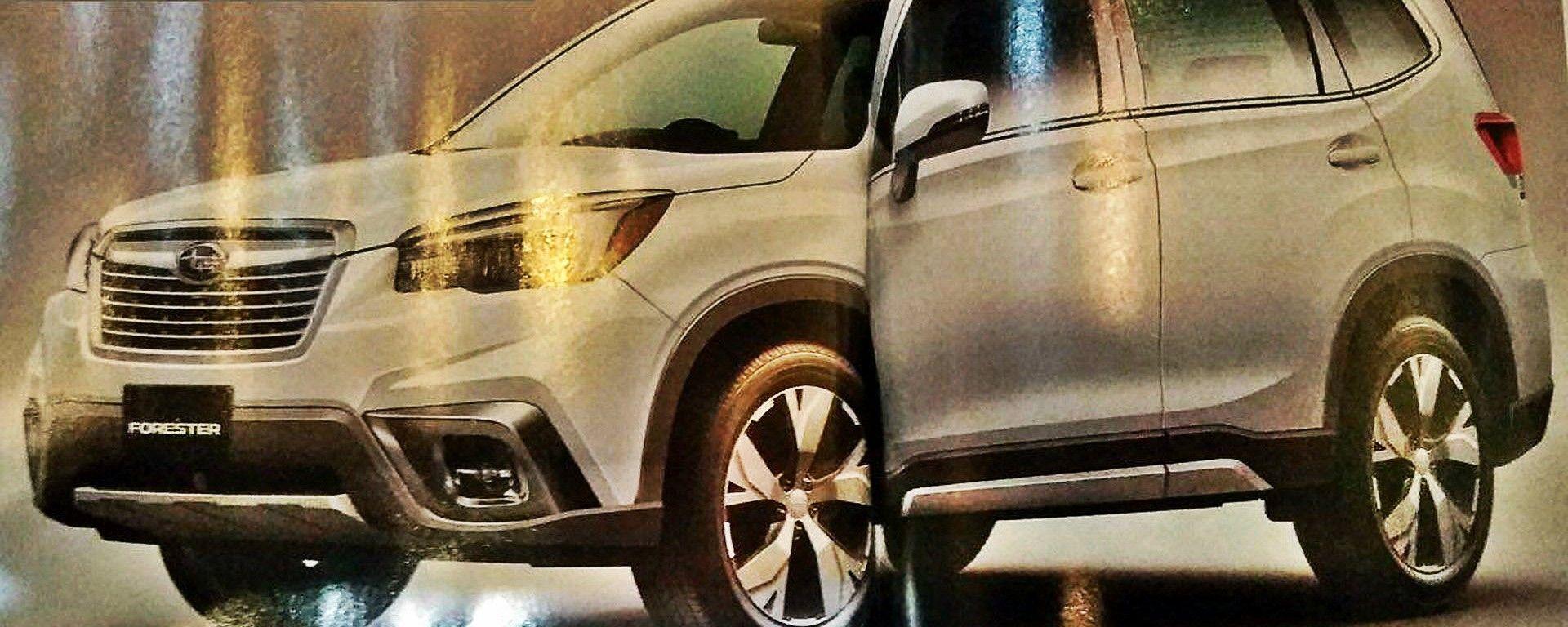 Nuova Subaru Forester 2019: le prime immagini in rete