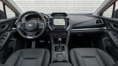 Nuova Subaru Impreza 2018, gli interni