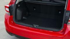 Nuova Subaru Impreza 2018, il bagagliaio