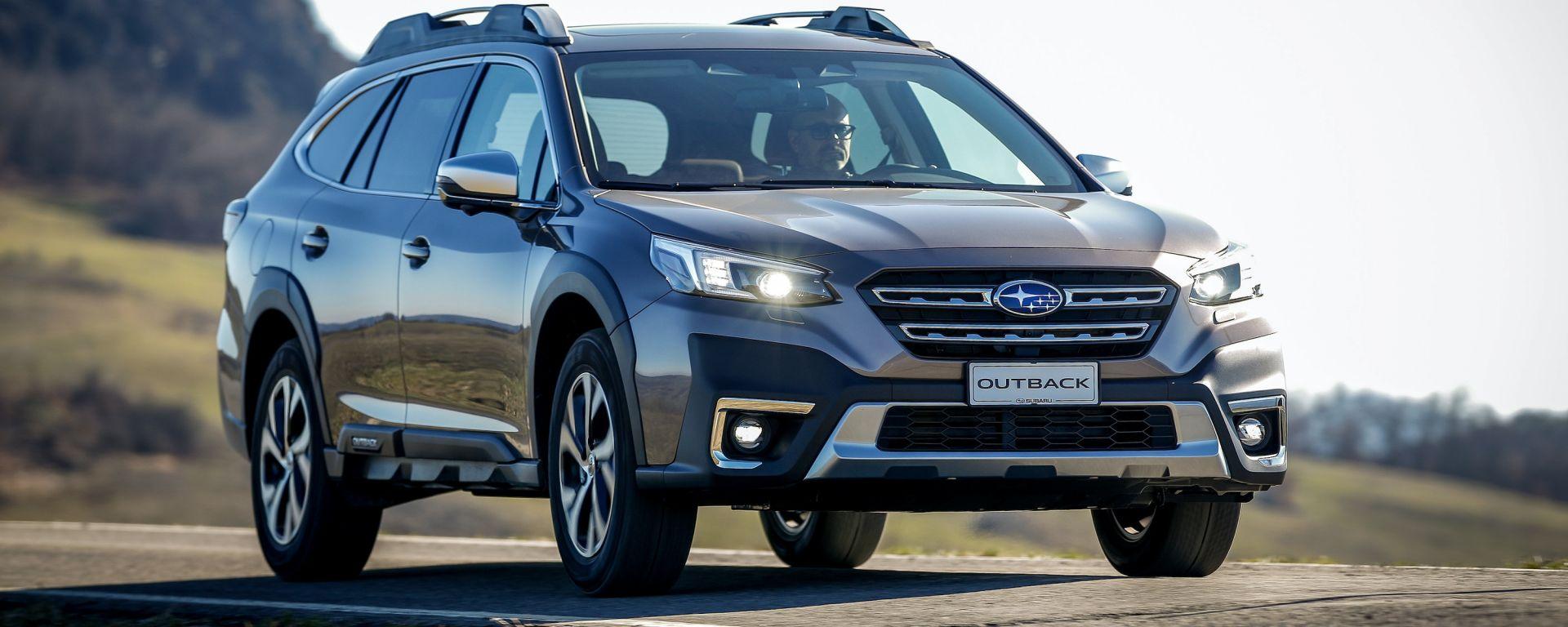 Nuova Subaru Outback 2021: tutte le novità e i prezzi