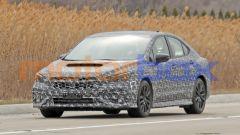 Nuova Subaru WRX 2021: sul cofano c'è ancora la grande presa d'aria