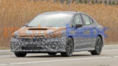 Nuova Subaru WRX, le nostre foto spia