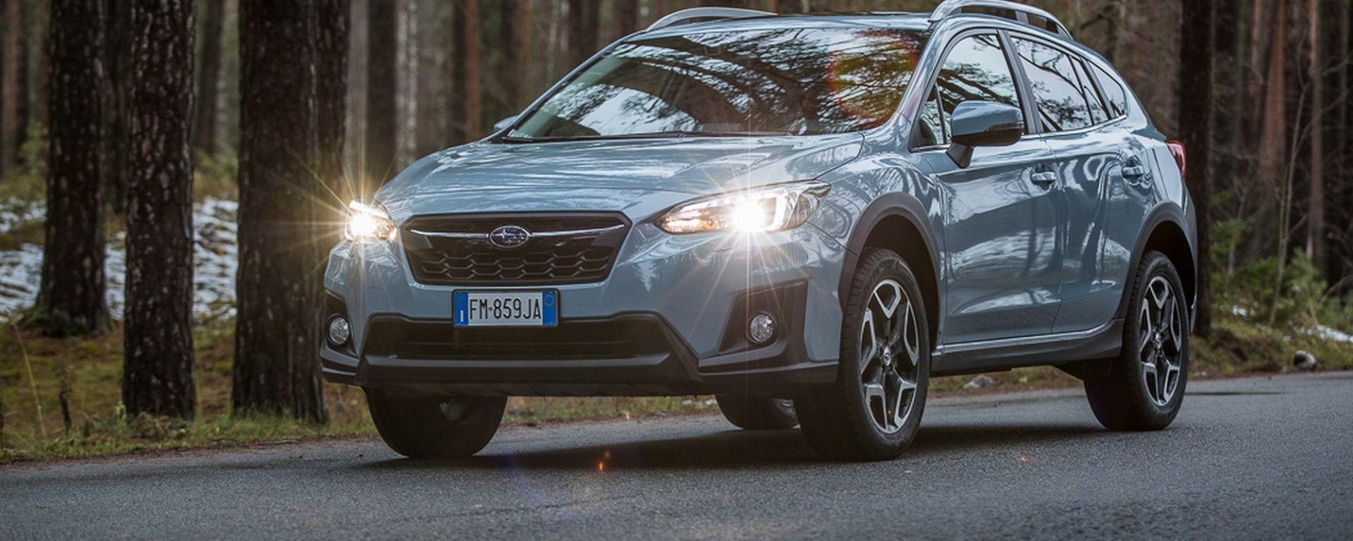 Nuova Subaru XV, compact crossover tutta sostanza