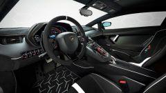 Nuova supercar Lamborghini 2022: l'abitacolo della Aventador SVJ