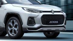 Nuova Suzuki Across: cambia il frontale con una mascherina più ampia e proiettori full LED più affilati