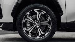 Nuova Suzuki Across: i cerchi in lega leggera bicolore da 19