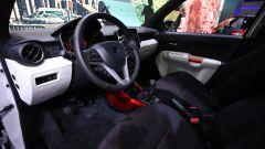 Nuova Suzuki Ignis, gli interni