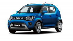 Nuova Suzuki Ignis Hybrid 2020: visuale di 3/4 anteriore