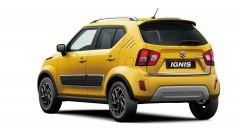 Nuova Suzuki Ignis Hybrid 2020: visuale di 3/4 posteriore