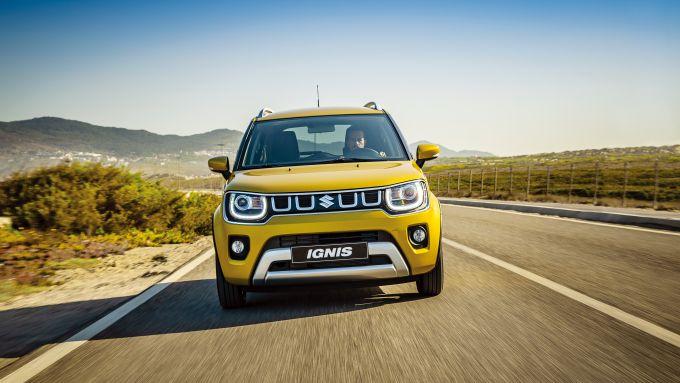Nuova Suzuki Ignis Hybrid, il frontale