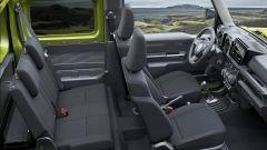 Nuova Suzuki Jimny 2018: gli interni