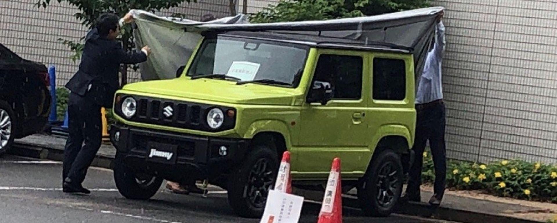 Nuova Suzuki Jimny 2018
