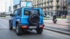 Nuova Suzuki Jimny: emissioni di CO2 da 154 g/km