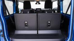 Nuova Suzuki Jimny: il bagagliaio da 85 a 377 litri