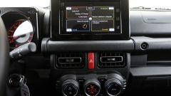 Nuova Suzuki Jimny: lo schermo da 7 pollici