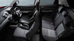 Nuova Suzuki Swift 2017, cinque posti interni