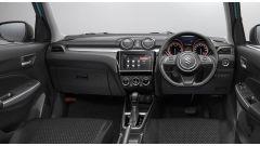 Nuova Suzuki Swift 2017, gli interni