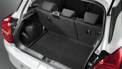 Nuova Suzuki Swift 2017, il bagagliaio