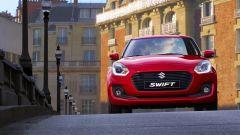 Nuova Suzuki Swift: il paraurti della versione S ha un design dedicato