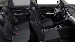 Nuova Suzuki Swift: la larghezza aumentata di 4 cm favorisce i viaggi in cinque
