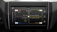 Nuova Suzuki Swift, lo schermo dell'infotainment