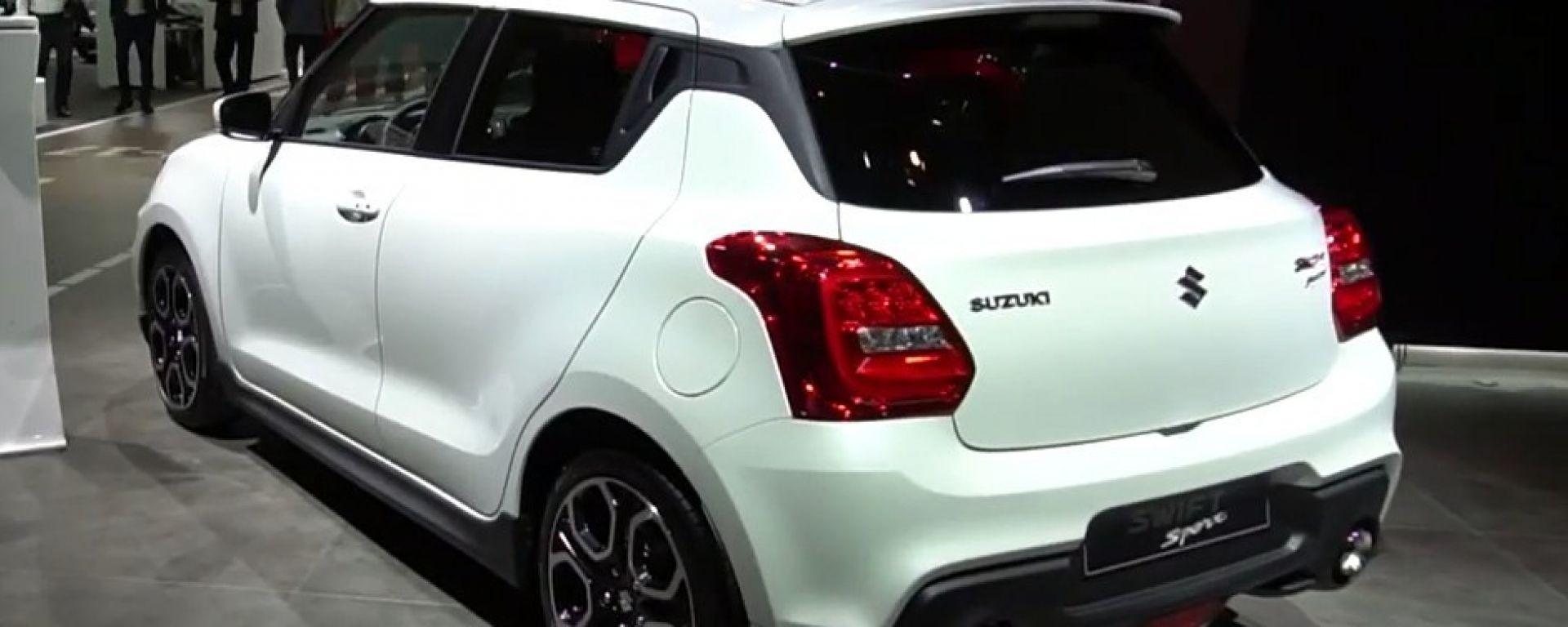 Nuova Suzuki Swift Sport, debutto a Francoforte