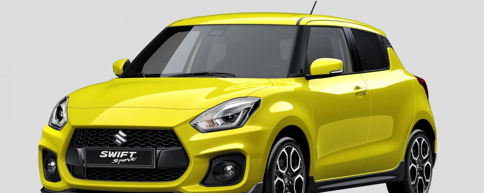 Nuova Suzuki Swift Sport: tutte le foto e il video in azione