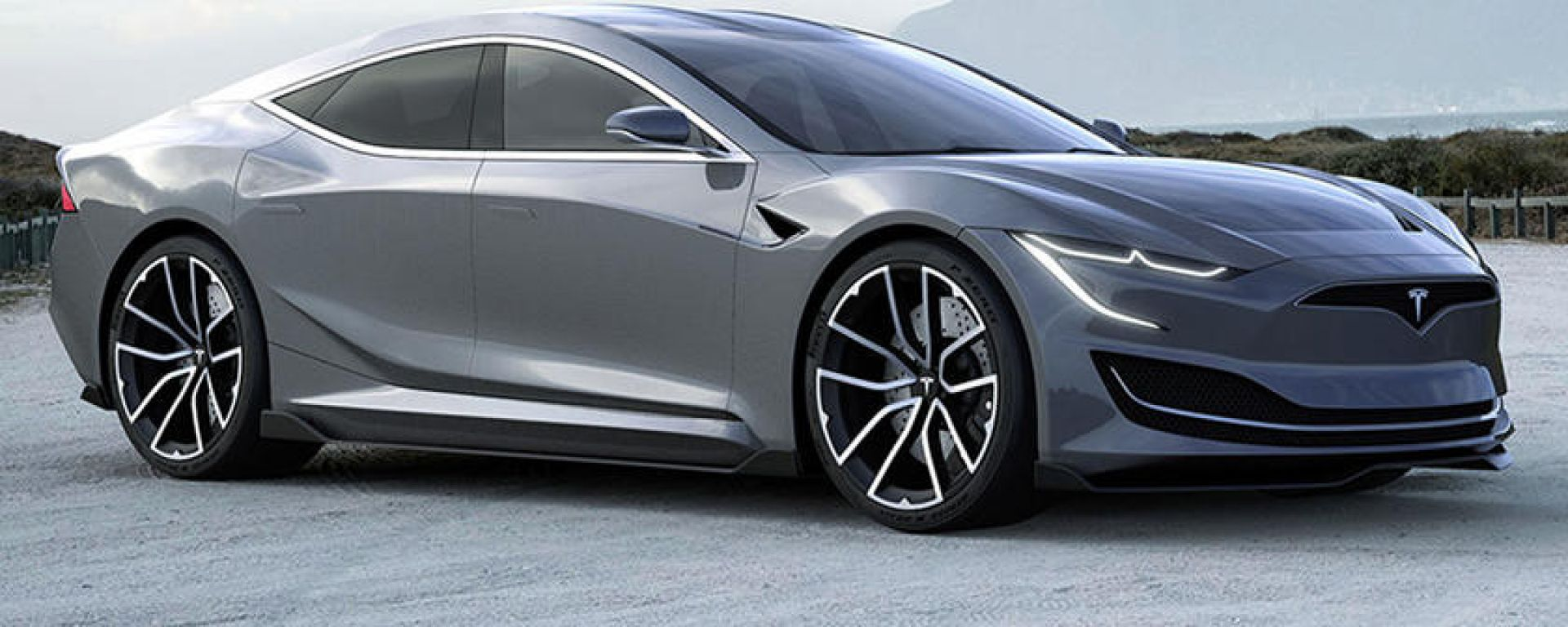 NUova Tesla Model S: allo studio la nuova super berlina elettrica americana