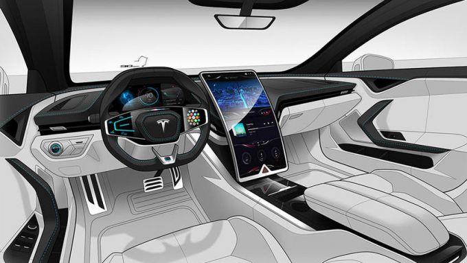 Nuova Tesla Model S: anche in abitacolo tanti cambiamenti