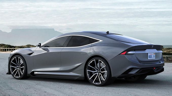 Nuova Tesla Model S: le immagini dal web ce la mostrano così